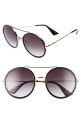 Gucci Women's 56Mm Round Sunglasses