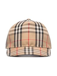 Burberry Vintage Check Trucker Cap 60