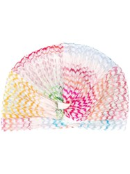 Missoni Mare Embroidered Hairband White