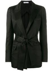 Barbara Casasola Single Breasted Blazer Black