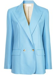 The Row Presner Jacket Blue