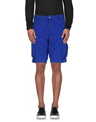 Napapijri Trousers Bermuda Shorts Men Dark Blue