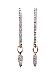 Katie Rowland Safety Pin Drop Earrings