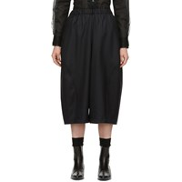 Comme Des Garcons Black Tasmania Wool Voluminous Trousers