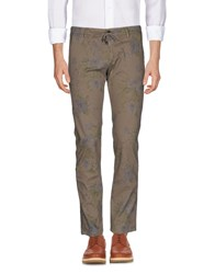 Kaos Casual Pants Light Brown