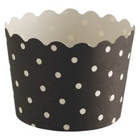 Habitat Mamble Set Of 12 Black Baking Cups