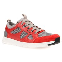 Geox Snapish Trainers Rock Red