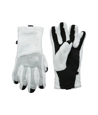 The North Face Denali Thermal Etip Glove Tnf White High Rise Grey Heather Extreme Cold Weather Gloves Black