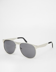 A. J. Morgan Aj Morgan Aviator Sunglasses Silver