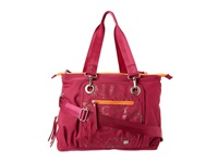 Haiku Commuter Tote Raspberry Clouds Tote Handbags Pink