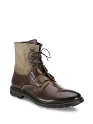 To Boot Leather And Suede Lace Up Boots Tmoro Arde