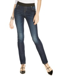 Inc International Concepts Petite Pull On Skinny Jeggings Sunday Wash