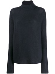 Christian Wijnants Roll Neck Jumper Blue