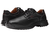 Ecco Fusion Bicycle Toe Tie Black Leather Men's Lace Up Bicycle Toe Shoes