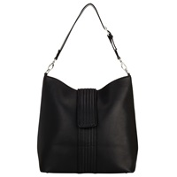 Kin By John Lewis Tansy Quilt Shoulder Bag Black