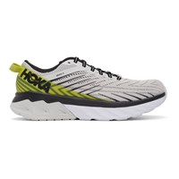 Hoka One One Grey Arahi 4 Sneakers
