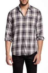 Gilded Age Gordon Plaid Shirt Gray