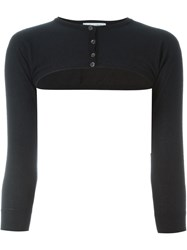 Dolce And Gabbana Vintage Bolero Cardigan Black