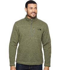 The North Face Gordon Lyons 1 4 Zip Deep Lichen Green Heather Men's Long Sleeve Pullover
