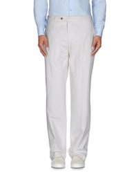 Lab. Pal Zileri Trousers Casual Trousers Men White