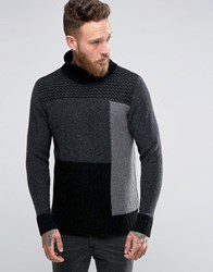 Nudie Jeans Dag Rollneck Jumper Grey