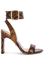 Sam Edelman Yola Sandal In Burnt Orange. Dusty Orange Snake