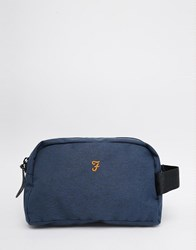 Farah Lawford Wash Bag Navy Blue