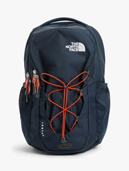 The North Face Jester Day Backpack Urban Navy Persian Orange