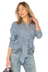 Citizens Of Humanity Steffy Blouse Blue