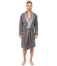 Ugg Robinson Robe Granite Heather Men's Robe Gray