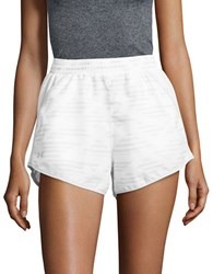 Under Armour Geometric Active Shorts White