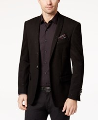 Tallia Men's Slim Fit Black Sparkle Dinner Jacket