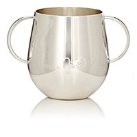 Christofle Savane Silver Plated Baby Cup Silver