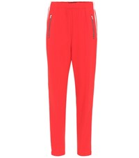 Rag And Bone Striped Trackpants Red