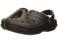 Crocs Classic Lined Clog Espresso Walnut Clog Shoes Brown