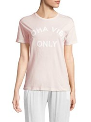 Mikoh Aloha Vibes Only Tee Cloud Pink