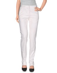 Gianfranco Ferre Gf Ferre' Trousers Casual Trousers Women White