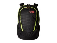 The North Face Women's Vault Tnf Black Emboss Calypso Coral Backpack Bags