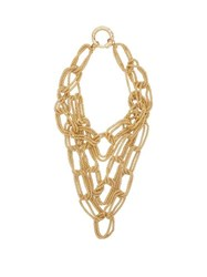 Rosantica By Michela Panero Onore Layered Oversized Chain Link Necklace Gold