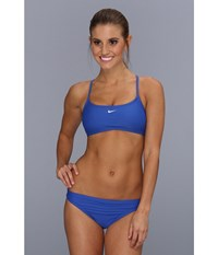 Nike Core Solids Sport 2 Piece New Royal Women's Swimwear Sets Blue