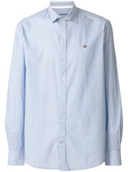 Napapijri Plain Shirt Blue