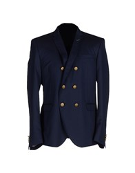 Manuel Ritz Suits And Jackets Blazers Men Dark Blue