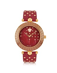 Versace Red Vanitas With Diamonds Women's Watch