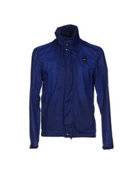 Blauer Jackets Blue