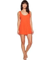 Rip Curl Classic Surf Romper Red Women's Jumpsuit And Rompers One Piece
