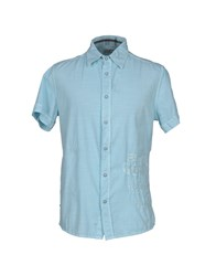 Blend Of America Blend Shirts Shirts Men Sky Blue