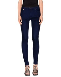 Paul Smith Denim Denim Trousers Women Blue