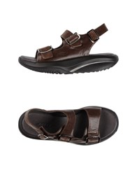 Mbt Footwear Sandals Women Dark Brown