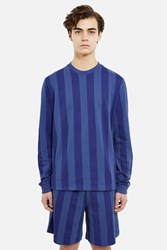 Cottweiler Robe Long Sleeve Shirt Navy Blue