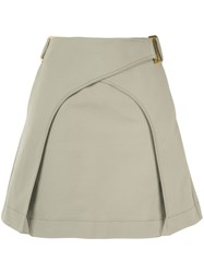 Dion Lee Panelled A Line Skirt 60